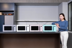 삼성전자, 에어프라이어 느낌 살린 '비스포크' 전자레인지 신제품 출시