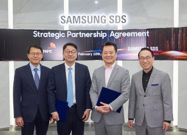 삼성SDS·PwC컨설팅과 맞손…AI 기반 업무혁신 사업 협력
