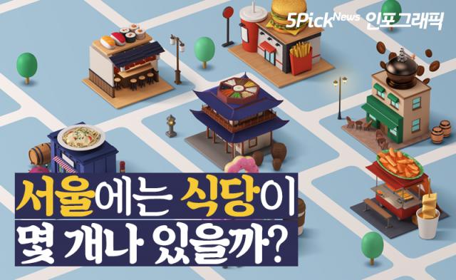 서울에는 식당이 몇 개나 있을까?