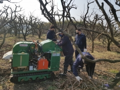 담양군,  '농작물 일제 파쇄의 날 지정' 영농 부산물 파쇄작업 지원