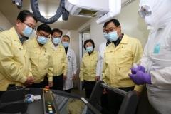 대구시의회, 코로나19 대응 최일선 대구의료원 방문