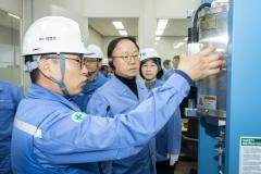 박형구 중부발전 사장, 발전설비 국산화 주요 프로젝트 현장경영 나서