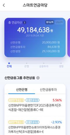 신한금융, 그룹 통합 연금관리 플랫폼 '스마트연금마당' 출시