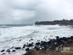 제주도 전역 대설주의보…초속 10∼16m 강풍
