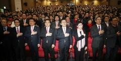 말 많던 미래통합당 출범…친박 청산·공천권 논란 등은 과제