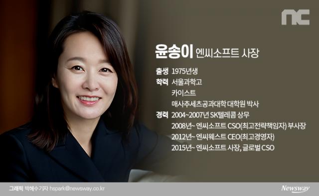 """윤송이 엔씨소프트 CSO, 새 기업 미션 발표…""""기술 혁신 지향"""""""