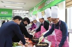 농협광주본부, '돼지고기 소비촉진 캠페인' 전개