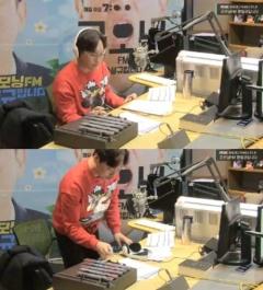 장성규 입술부상에 '굿모닝FM' 불참…배우 송진우, 스페셜 DJ