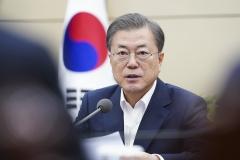 문 대통령, 中 시진핑 주석과 전화통화…'코로나19' 사태 협의