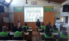 경산시보건소, 공공일자리사업 참여어르신 코로나19 예방교육