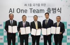 구현모 KT 사장, 첫 행보는 'AI'…현대중공업지주·KAIST와 협력