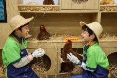 풀무원, 키자니아 부산에 '동물복지 달걀 농장' 어린이 체험관 오픈