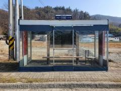 임실군, 노후 버스 승강장 교체·신규 설치