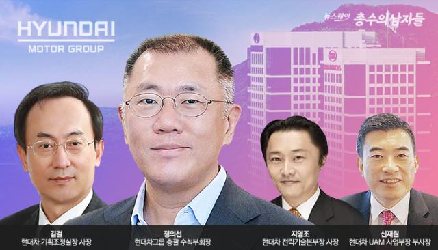[총수의 남자들|현대차] '정의선 시대' 이끌 3인 '김걸·지영조·신재원'