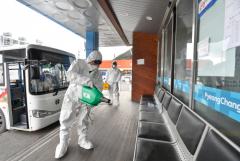 정선군 코로나19 대응, 대구행 버스 운행중단
