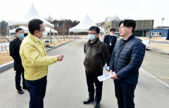 인천시, `코로나19` 차에서 접수부터 검체채취까지...'드라이브스루 선별진료센터' 운영
