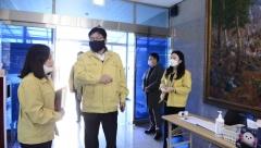 도성훈 인천시교육감, 강화교육지원청 코로나19 대책상황실 방문