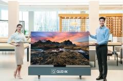"""삼성전자, 2020년형 QLED 8K 사전판매…""""14년 연속 글로벌 1위 기념"""""""