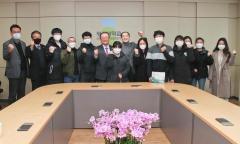 광주대, 쑨시엔위 중국 주광주 총영사 학교 방문 중국인 유학생 격려