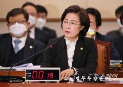 통합당·국민의당, 추미애 법무장관 탄핵소추안 제출