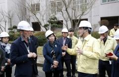 광주 북구, 해빙기 재난・안전사고 취약시설 안전검점