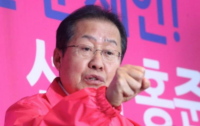 """홍준표 """"천신만고 끝에 승리···유권자들의 신뢰에 보답하겠다"""""""