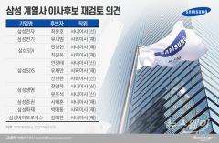 삼성 계열사 이사선임 일부 '부적격' 왜?