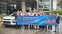 쌍용차,중남미 시장 '공략'…글로벌 수출 확대 박차