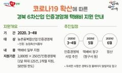 경북도, 코로나 피해 6차산업 인증업체에 택배비 지원