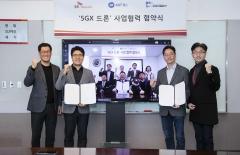 SKT, ADT캡스·이노뎁과 5G 기반 드론 솔루션 사업 공략 '맞손'