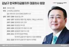 18년째 흔들림 없는 김남구 회장의 '사람論'