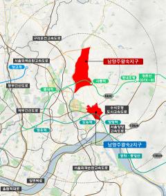 LH, 남양주왕숙 기본계획‧기본설계용역 본격 착수