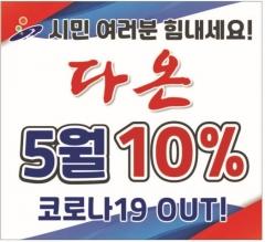 안산시, '코로나19 극복' 지역화폐 다온 10% 특별혜택 5월까지 연장