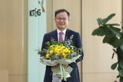 백복인 KT&G 사장, '화훼농가 돕기 릴레이 캠페인' 동참