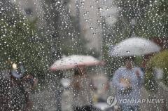 일요일 전국 흐리고 곳곳 비…미세먼지 '보통'