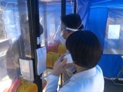 현대유비스병원, 인천지역 최초 '워크 스루 선별진료소' 운영