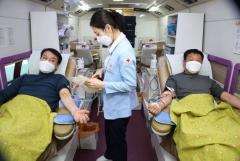 강원랜드, 혈액수급난 극복 헌혈 캠페인