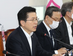 """공천 논란 하루 뒤 황교안 """"계파 논란 없었다"""" 자평"""