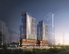 신세계건설, '빌리브 센트로' 모델하우스 오픈