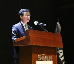 """[2020 주총] 천정철 세아홀딩스 대표 """"계열사 간 시너지 극대화할 것"""""""