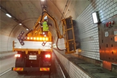 대구 테크노폴리스로, 터널세척으로 일부 통제