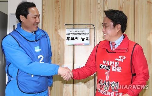 '6번째 대결' 웃은 우상호·'판사 대전' 이긴 이수진···이색대결 민주당 '방긋'