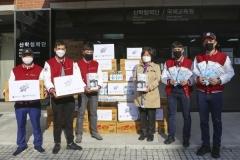 계명문화대, 외국유학생에 마스크·생필품 등 지원