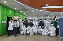 경북대 생활치료센터, 3주간 76% 완치