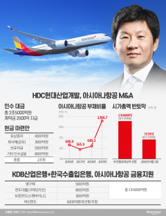 정몽규 HDC 회장, 아시아나항공 인수 고? 스톱?