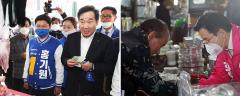 공식선거운동 첫 날, 후보들 서민 표심 공략 집중