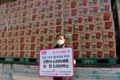 SK네트웍스, 대구·경북 3억원 상당 식료품 지원