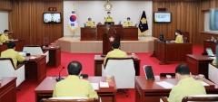무안군의회, 코로나19 대응 '원포인트' 임시회 개회