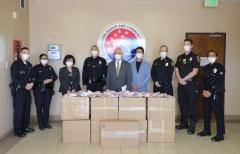 반도건설 미주법인 '반도델라', 미국 LA 현지에 마스크 기부