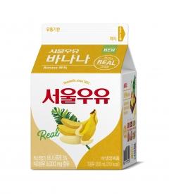 서울우유협동조합, '서울우유 바나나 카톤 300' 출시